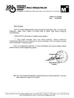 2015 Yılı Serbest Muhasebecilik, Serbest