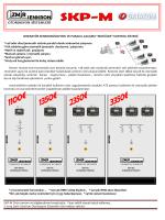 SKP-M Ürün tanıtım ve bilgilendirme broşürüdür