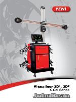 Visualiner 3D1, 3D2 X-Cel Series