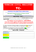 turkish civil register tc