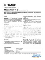 MasterSet® R 2 (Eski adı MELMIX® II) Hazır Yaş Sıva ve