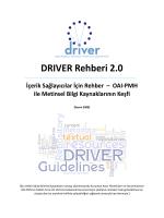 DRIVER Rehberi_19_08_2014_tr