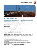 BOYDUR® MARKER 564 - Boytorun Kimya Sanayi AS