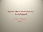 Diyaliz hastalarında osteoporoz