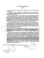 Sermaye Piyasası Aracı Notu Özet - Düello Varantları