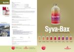 Diptico Syva-Bax