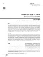 Mini karmaşık organ: Kıl folikülü
