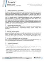 / 3-matic yazılımının açıklaması / Kullanım