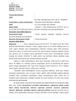 6001 sayılı Karayolları Genel müdürlüğü Teşkilat ve