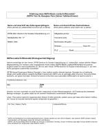 SEPA Lastschriftmandat Einzugsermächtigung für