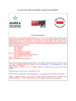 KUMYAPI- Ihale Ilani - kumyapı arıtma teknolojileri