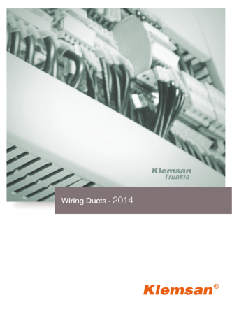 2014 Wiring Ducts Catalog