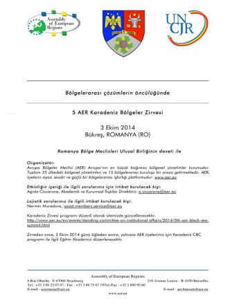 3 Ekim 2014 Bükreş, ROMANYA (RO)
