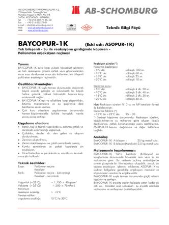 BAYCOPUR-1K (Eski adı: ASOPUR-1K) - ab