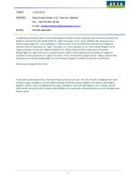 TARİH : 12.08.2014 KİMDEN : Aksa Enerji Üretim A.Ş. Yatırımcı