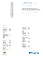 Product Leaflet: 26W, G24q-3, 4P