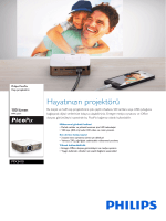 PPX3410/EU Philips Cep projektörü