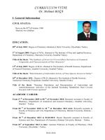 Eng.CV - Dicle Üniversitesi