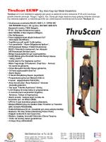 ThruScan s9-sX Kullanım Kılavuzu