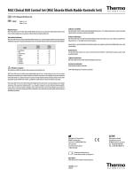 MGC Clinical DAU Control Set Package Insert [TR]