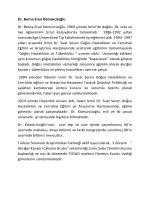 CV - Türkiye Solunum Araştırmaları Derneği