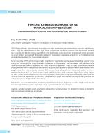 yurtdışı kaynaklı akupunktur ve tamamlayıcı tıp dergileri