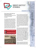 Osmanlı Cephesinde Yeni Bir fiey Var - Orient