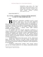 Zhala BABASHOVA XX. YÜZYIL AZERBAYCAN
