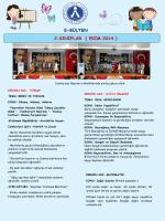 E-BÜLTEN 2.SINIFLAR ( EKİM 2014 )