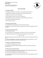 Okul Yönetmeliği - Goethe-Mittelschule Augsburg