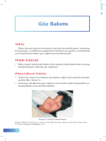 Göz Bakımı - İzmir Güney Kamu Hastaneleri Birliği Genel Sekreterliği