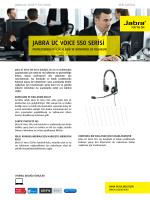 jabra uc voıce 550 serisi