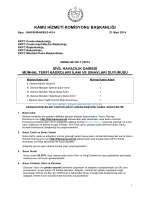 Genelge 11 2014 Sivil Havacılık Dairesi 5 Mevki