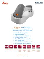Argox AS-8520 Teknik Özellikler
