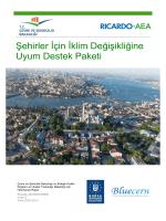 Şehirler İçin İklim Değişikliğine Uyum Destek Paketi