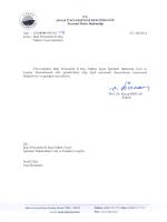 Sinop Üniversitesi İdari Personelin İl Dışı Naklen Tayin İşlemleri