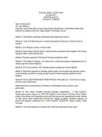 Ocak 2014 Yönetim Kurulu Toplantı Özeti