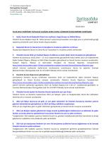 Genel Kurul Gündemi Bilgilendirme 2014