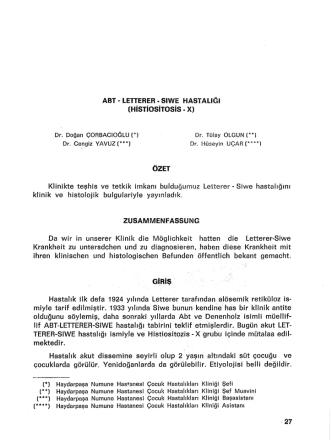 27-32 - Zeynep Kamil Tıp Bülteni