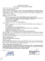 Emar Endüstriyel Temizlik - Kütahya İli Kamu Hastaneleri Birliği