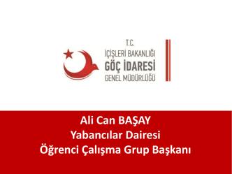 Ali Can BAŞAY Yabancılar Dairesi Öğrenci Çalışma - E