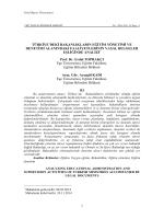 Prof. Dr. Erdal TOPRAKÇI - Sosyal Bilimler Enstitüsü