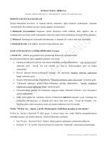 Ders 5-6 - İnsana Hizmet Derneği