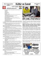 Kültür ve Sanat - İvrindi Gazetesi