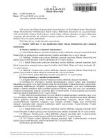 T.C. SAĞLIK BAKANLIĞI Hukuk Müşavirliği Sayı : 11045126/601.02