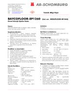 BAYCOFLOOR-EP1260 (Eski adı: INDUFLOOR - ab