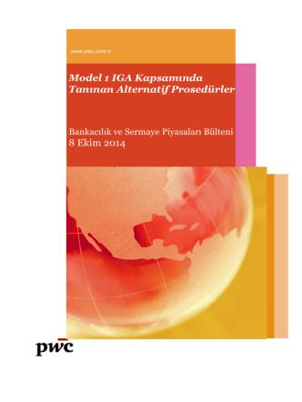 08 Ekim 2014 - Bankacılık ve Sermaye Piyasaları