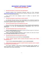 MUVAZZAF ASTSUBAY TEMİNİ - Kara Kuvvetleri Komutanlığı