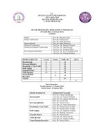 2014-2015 öğretim yılı ders programı