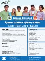 Çukurova Üniversitesi | Uzaktan Eğitim Sistemi e